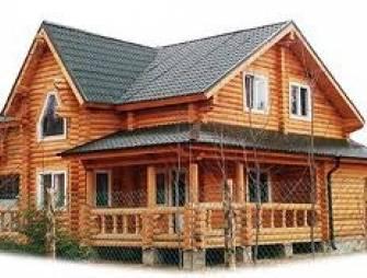 Сруб как основа настоящих деревянных домов
