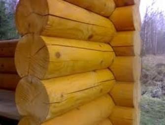 Как бороться с трещинами в деревянном срубе