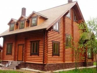 Дома из бревна оцилиндрованного надёжный способ утепления