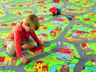 ковровое покрытие в детскую комнату