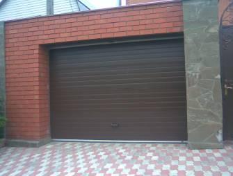 монтаж автоматических ворот для гаража