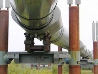 неподвижные и подвижные опоры под трубопровод