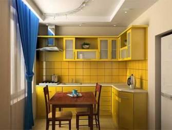 финальный этап кухонного ремонта - обустройство простанства