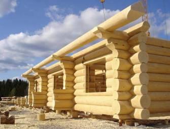 строительство домов из бруса в Питере