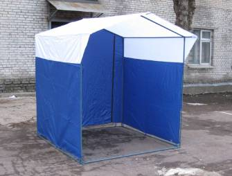 использование торговых палаток в столице