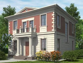 Проект дома с комнатой на 1 этаже