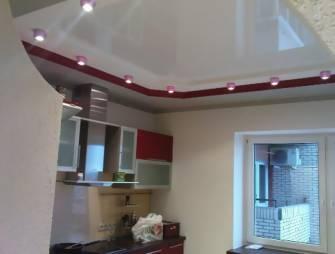 уместен ли для кухни натяжной потолок