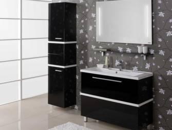 декорируем ванную с помощью мебели