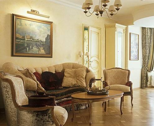 Оформление квартиры в классическом
